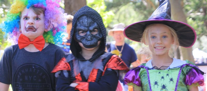 swamp monsters, centennial park, haloween events for kids