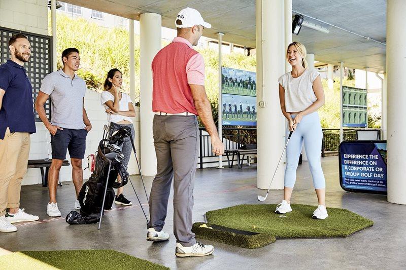 Moore park golf, sydney golf, centennial park golf