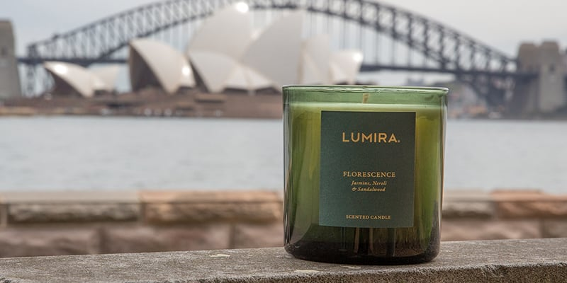 lumira candle, jimmy turner, almira armstrong, royal botanic garden sydney