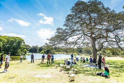 Maps - Centennial Parklands Map Centennial Park Sydney Australuia on