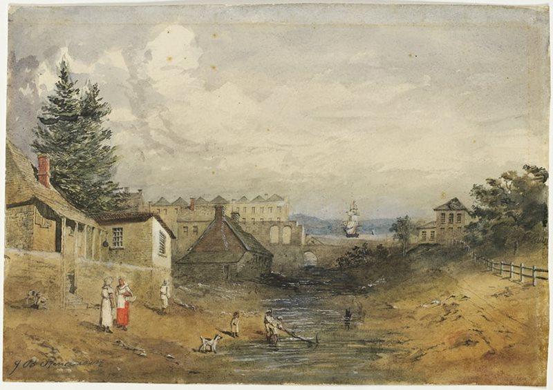 old-tank-stream-1852-john-black-henderson.