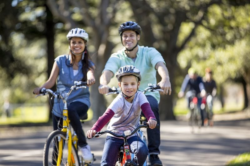 Today an estimated one million cycling visits are made to Centennial Parklands every year