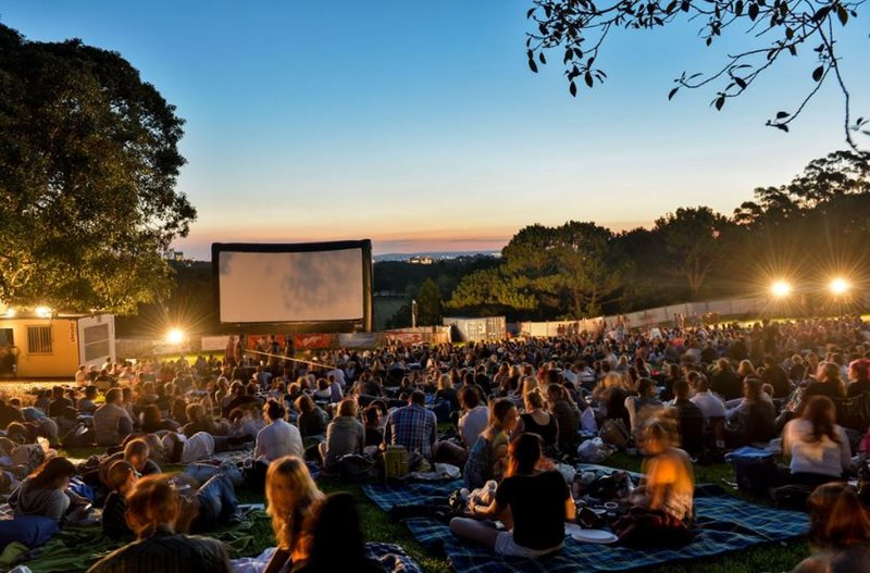 Moonlight Cinema in Centennial Park began operating in 1997
