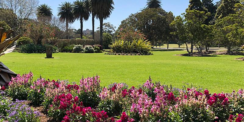 centennial park, sun dial, sydney