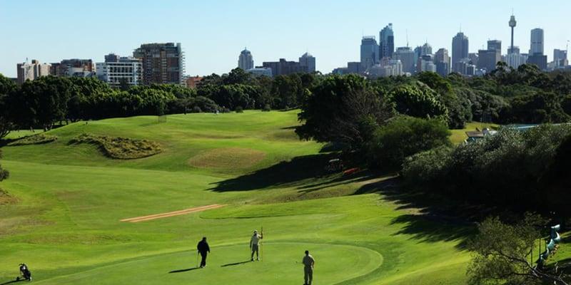 moore park golf sydney