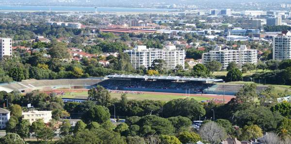 E.S. Marks Athletics Field is nestled in the eastern suburbs of Sydney