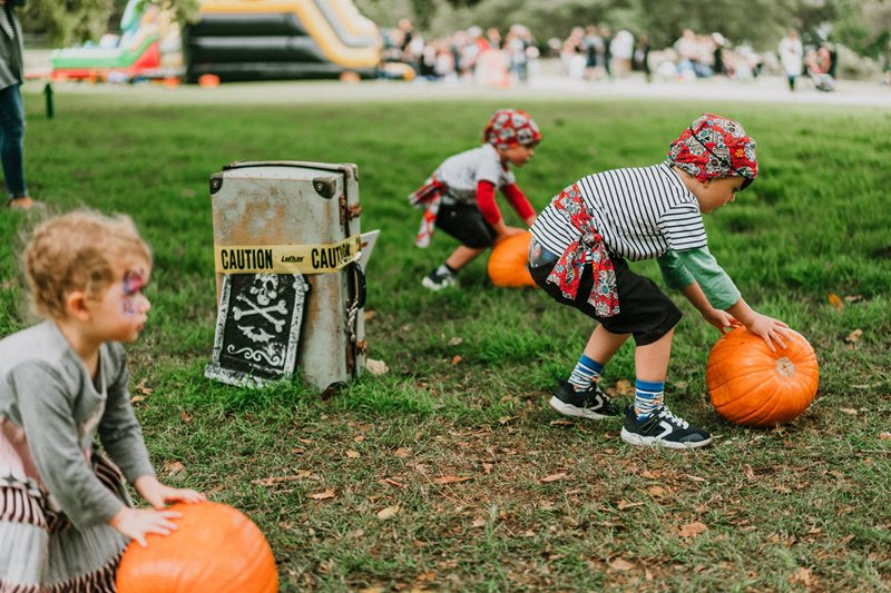 kids halloween, sydney, royal botanic garden,