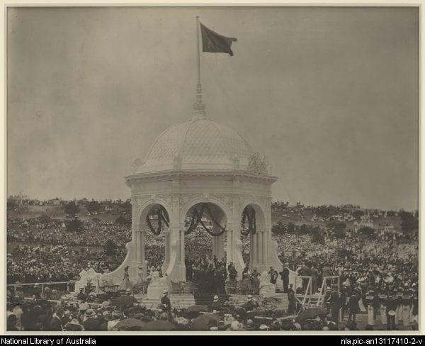 Federation Valley, centennial park, sydney history, australian history