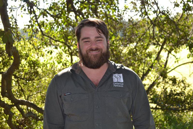 Peter Butler, Senior Arborist for Centennial Parklands