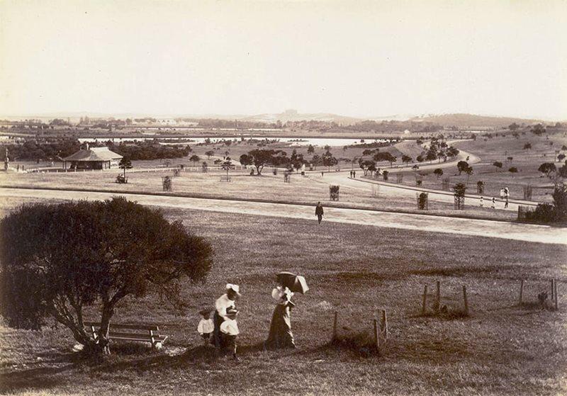 Centennial Park circa 1890