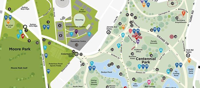 Park Notices Centennial Parklands