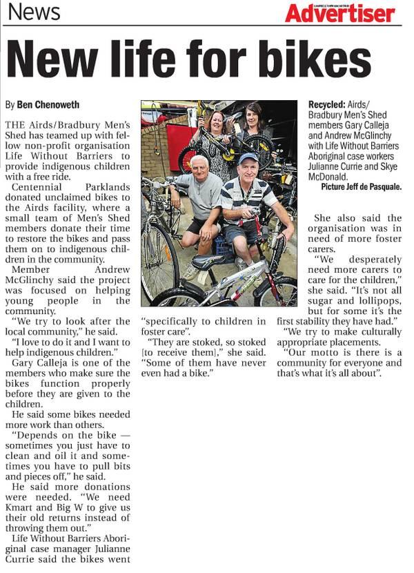 Article taken from Campbelltown Macarthur Advertiser (F2 network)