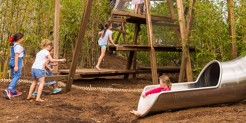 The Ian Potter Children's WILD PLAY Garden named best play space in Australia!