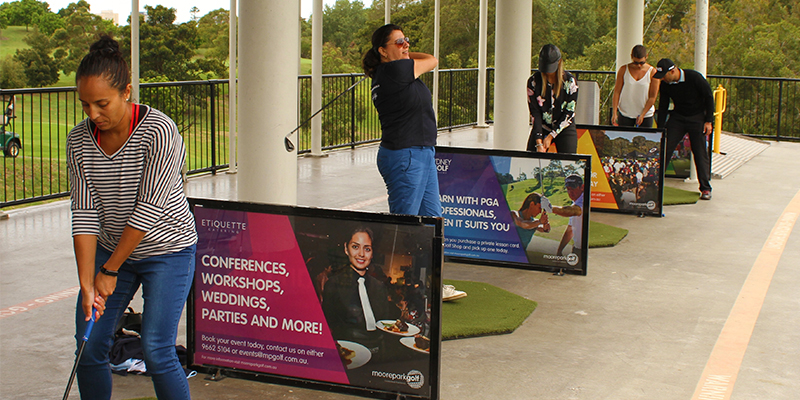 swing fit, moore park golf, golf month, sydney golf
