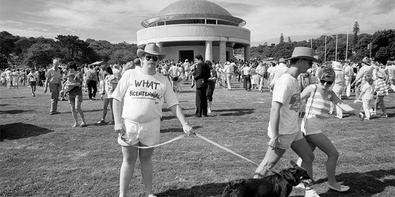 bicentennial, sydney, sydney history, australian history, centennial park