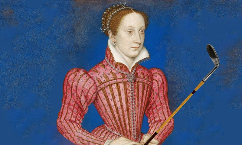 Golfing Empress, Mary, Queen of Scots | Artist's Interpretation