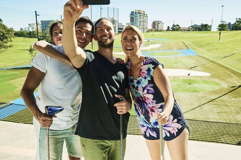 moore park golf, centennial park golf, golf australia, sydney golf