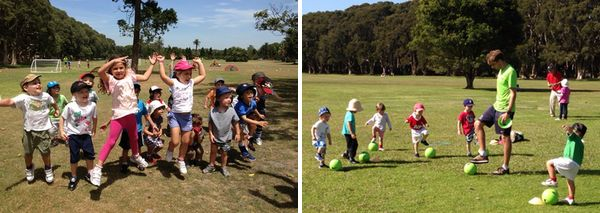 Kickeroos - fun, physical activity and team building skills in a social and nurturing environment
