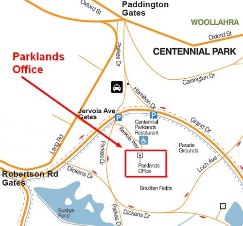 Parklands Office - Centennial Parklands on
