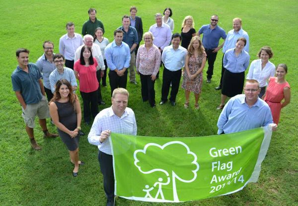 Centennial Parklands has been awarded another Green Flag Award for 2014