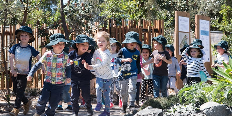The Ian Potter Children's WILD PLAY Garden named best play space in Australia