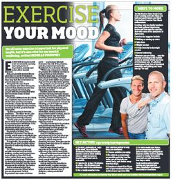 "Click to download and read this article on ""Exercise Your Mood Month"""