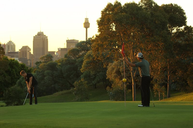 moore park golf, sydney golf, centennial park