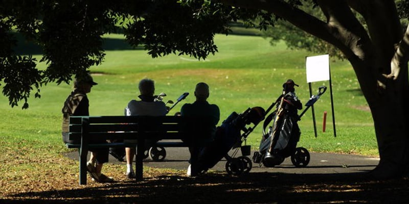 moore park golf australia sydney